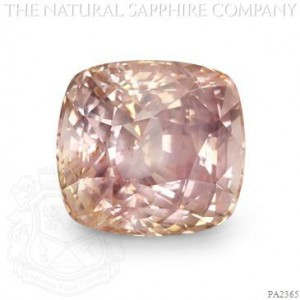 9.51ct Untreated Padparadscha Sapphire