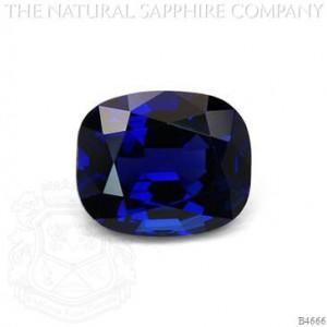 4.77ct Unheated Burmese Sapphire