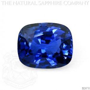 3.02ct Kashmir Sapphire