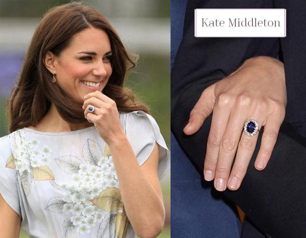Kate Middletons Royal Sapphire Engagment Ring