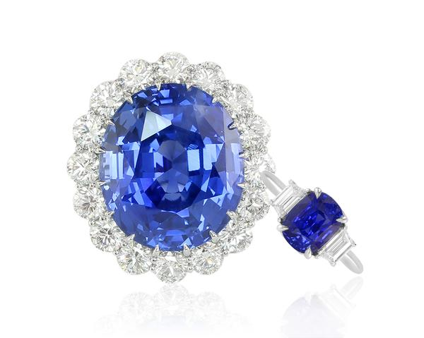 Replica of the Princess Diana Sapphire Ring