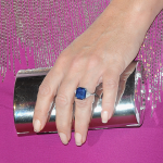 Elizabeth-Hurley-Blue-Sapphire-Engagement-Ring