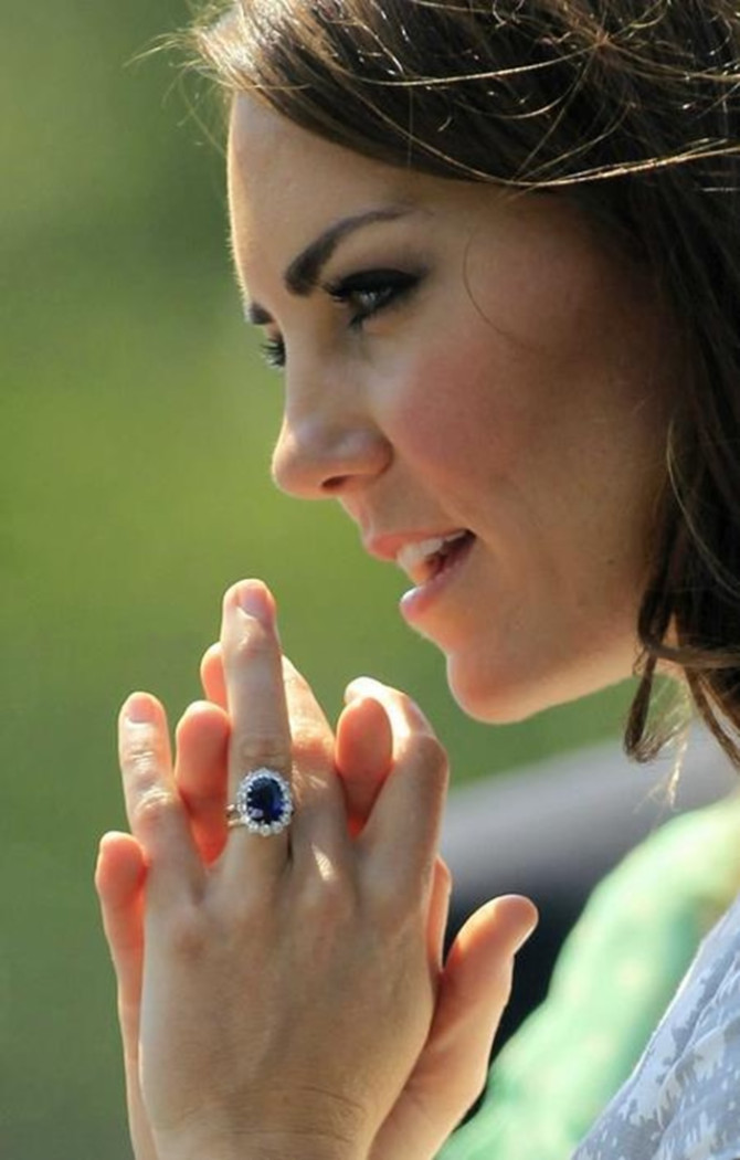 kate middleton s sapphire ring style