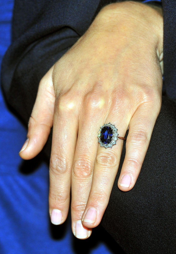 Kate Middleton's engagement ring,