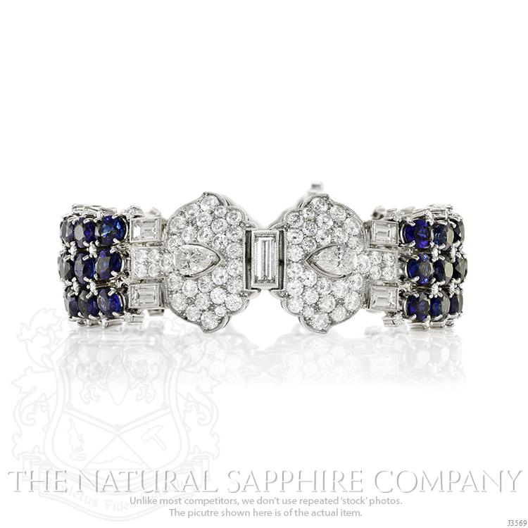 Blue-Sapphire-Bracelet-For-Princess