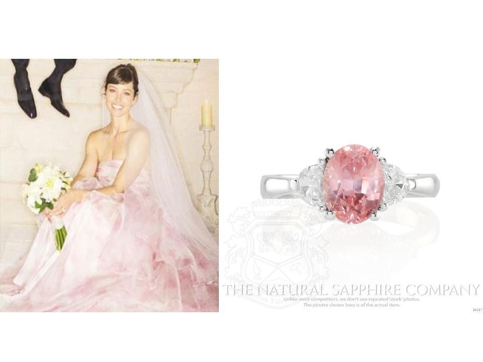 Jessica-Biel-Pink-Sapphire-Ring