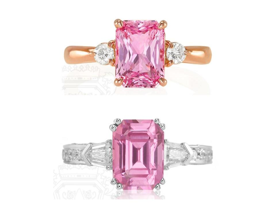 Pink-Sapphire-Rings-Rose-Gold-White-Gold