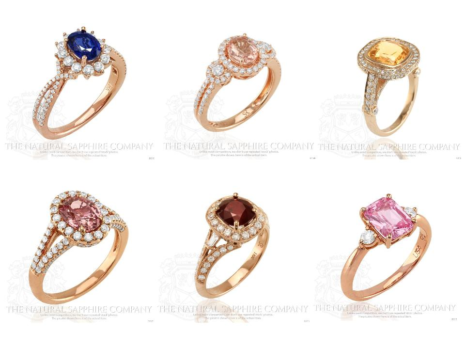 ring diamond natural colorful rings engagement pink yellow weddingbee