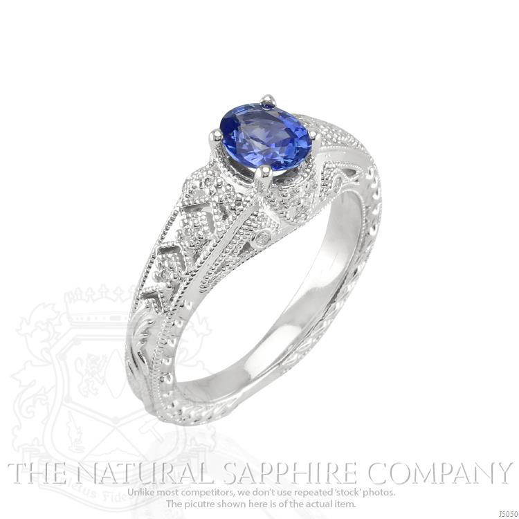 oval-blue-sapphire-estate-ring-0.82-Ct