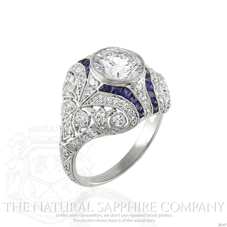 round-colorless-diamond-estate-ring-2