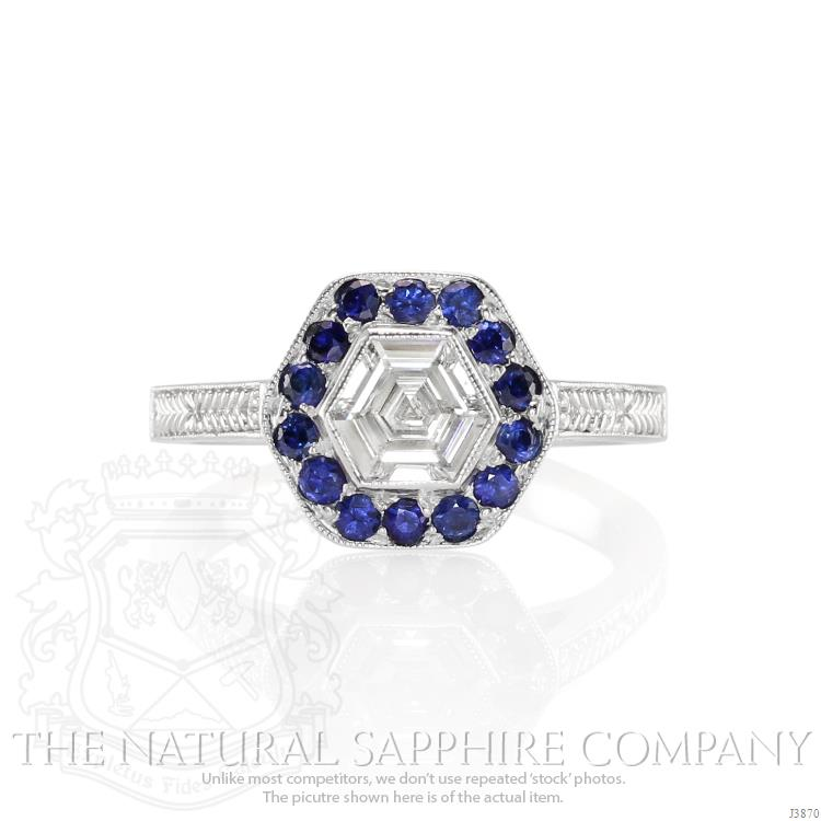 Wedding Ring With Sapphires And Diamonds 14 Vintage Unique elegant engagement rings