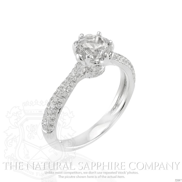 White Sapphire Engagement Rings A Buyers Guide