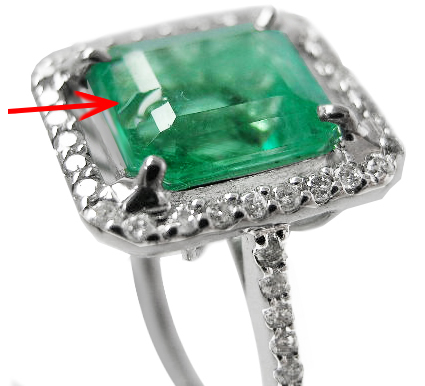 Chipped-Emerald-Ring