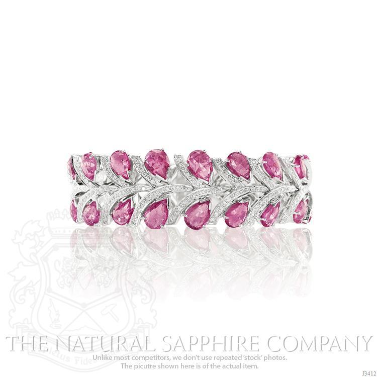 Kate-Middleton-Pink-Sapphire-Bracelet