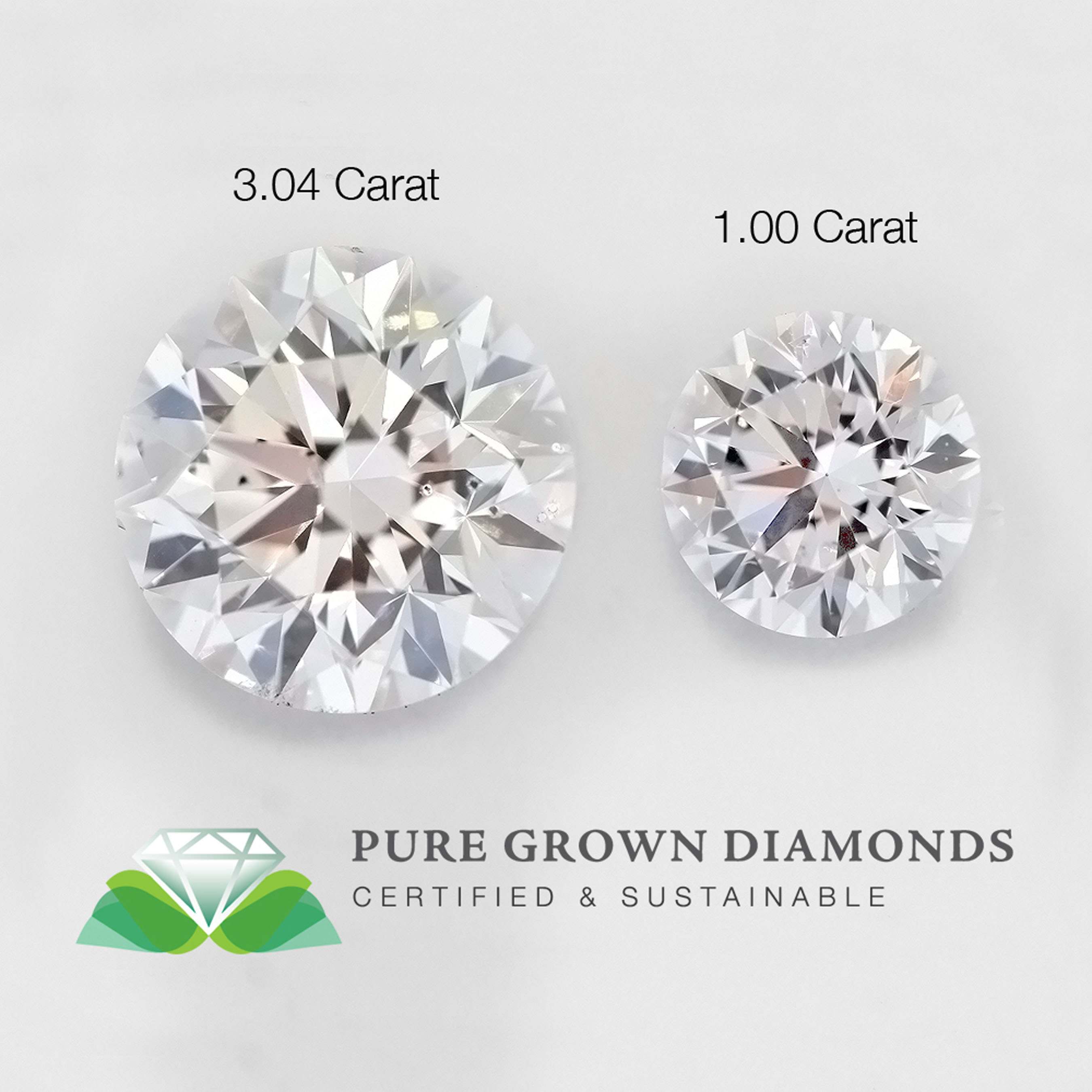Diamond Comparison Pure Grown Diamonds