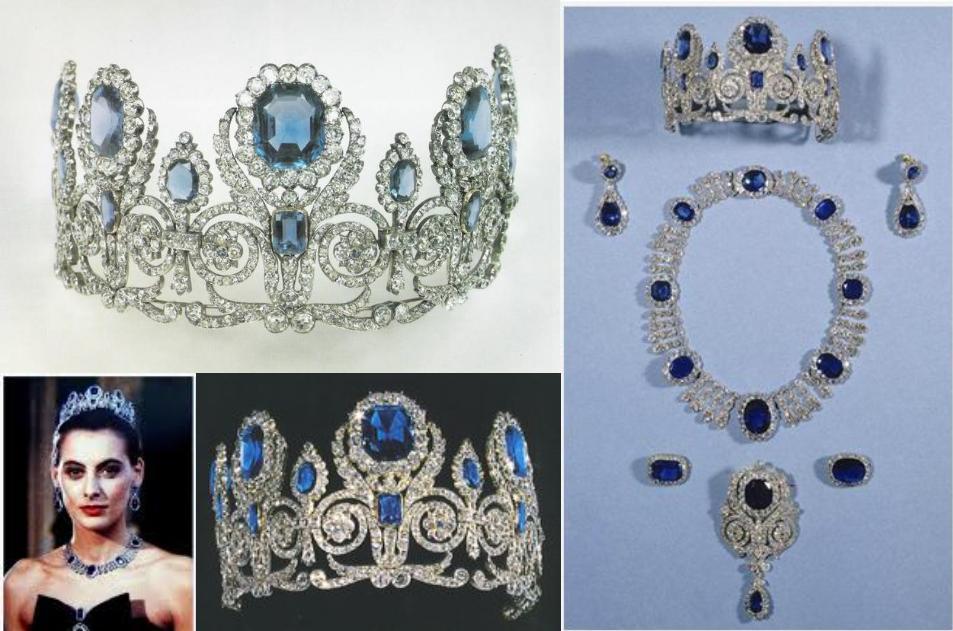 Queen-Marie-Amelie-Sapphire-Diamond-Parure