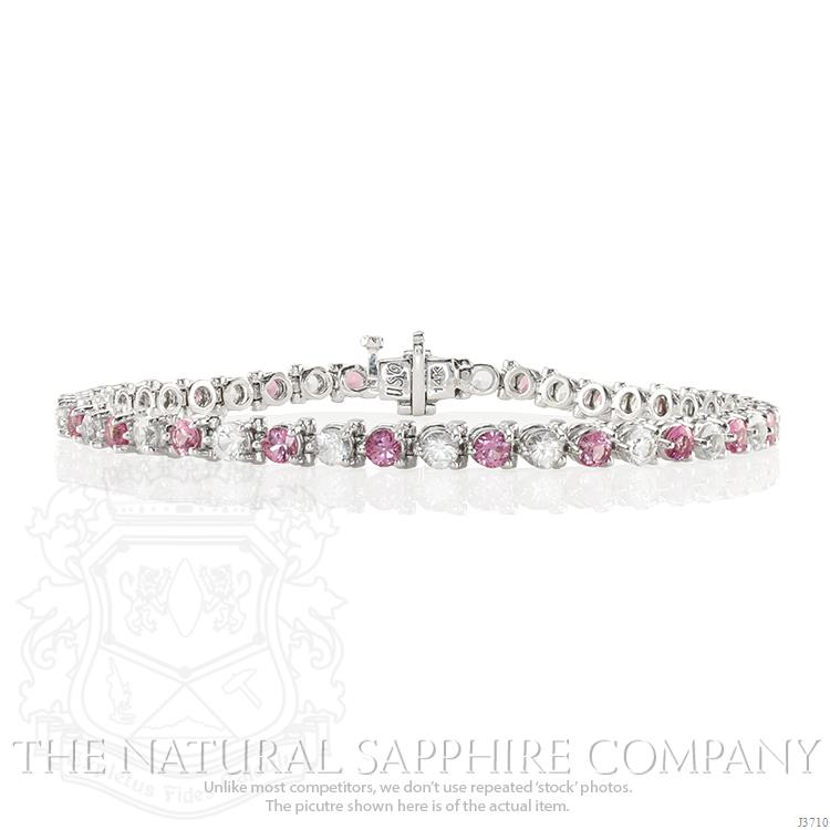 Royal-Watcher-Pink-Sapphire-Bracelet