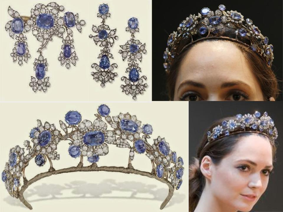 The 10 Most Amazing Royal Sapphire Tiaras Of All Time