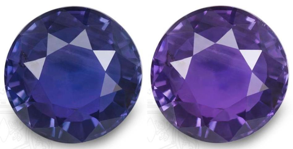 Bluish Purple Mood Ring