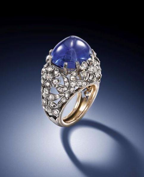 bonhams-sapphire-sugarloaf-ring