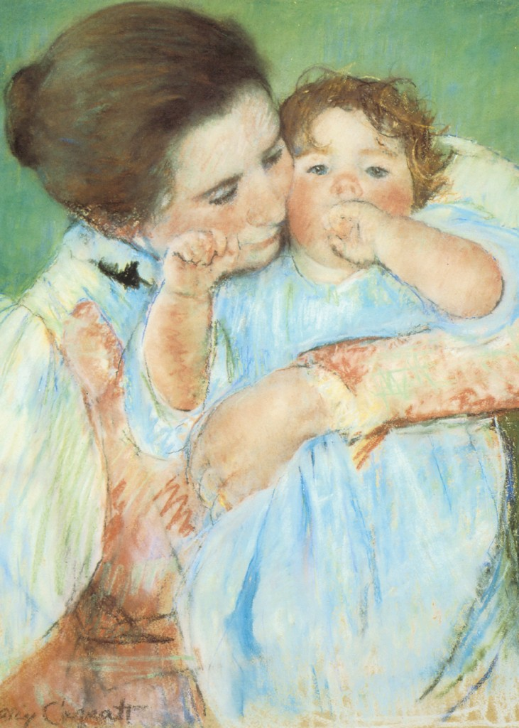 Mary-Cassatt-Mother-And-Child