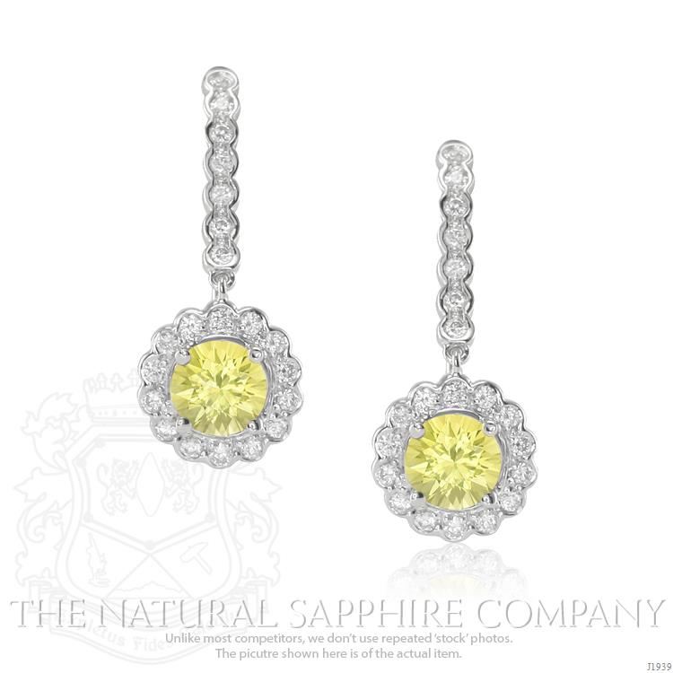jewellery gold stud pink cluster amp yellow sapphire earrings owned pre image