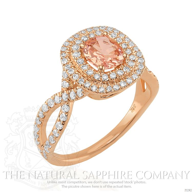 Peach Sapphire Why Peach Is Hot For Engagement Rings