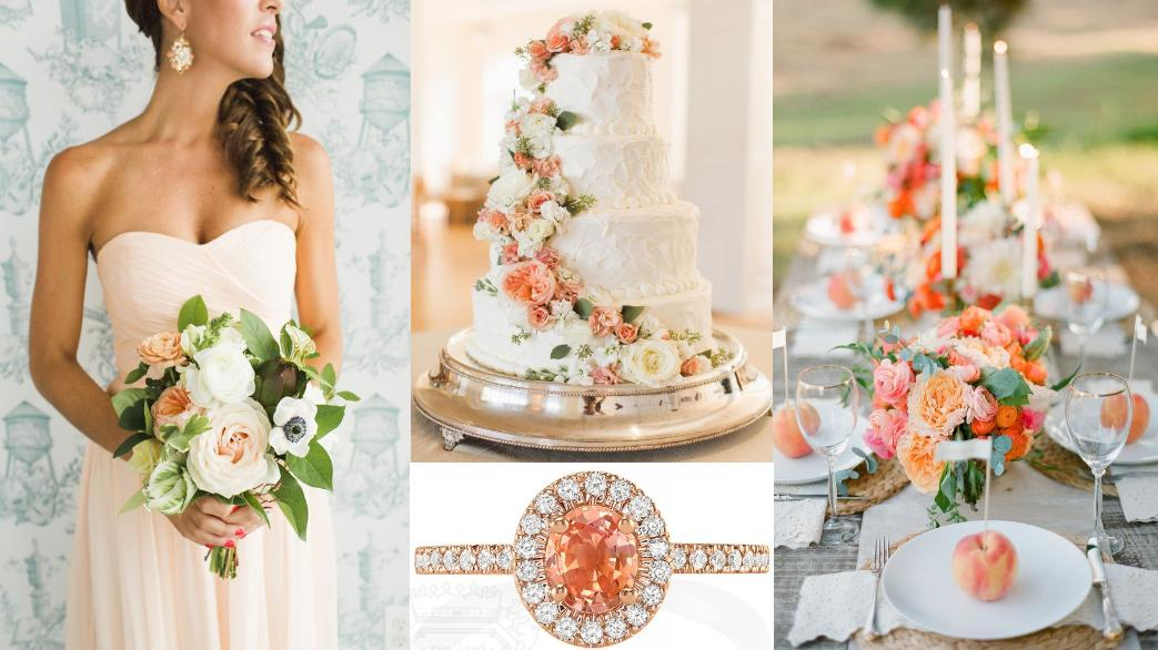 Peach Sapphire : Why Peach Is Hot For Engagement Rings