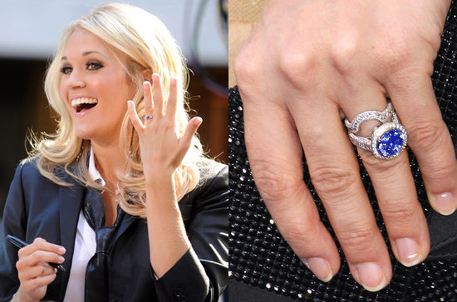 jewelry engagement celebrity media famous rings weddbook photos