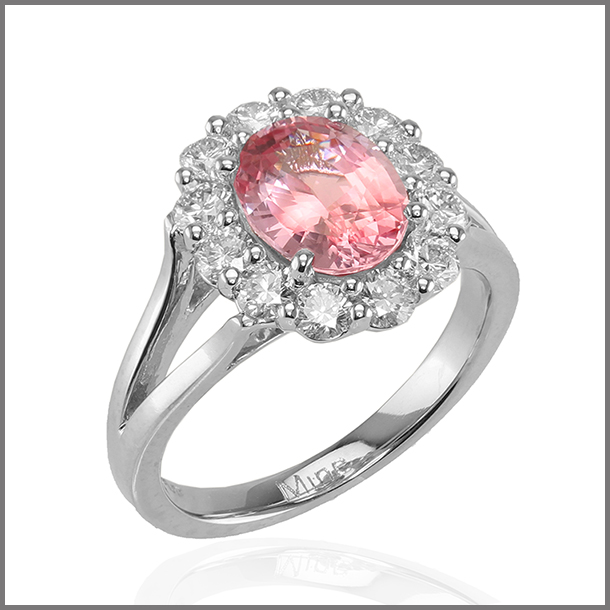 Farid O. London.- pink sapphire