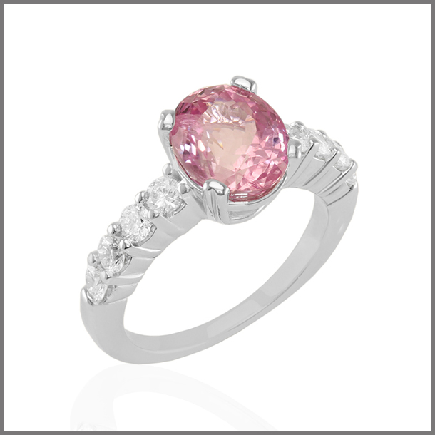 Shannon Niland, pink-sapphire-ring- Shannon Niland-Yerk