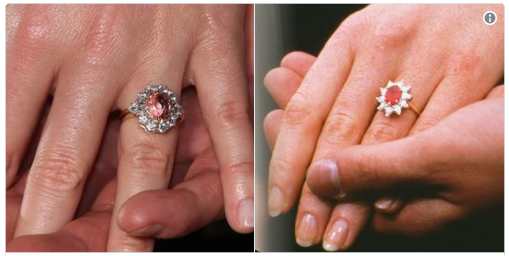 Details On Princess Eugenie S Padparadscha Sapphire Engagement Ring