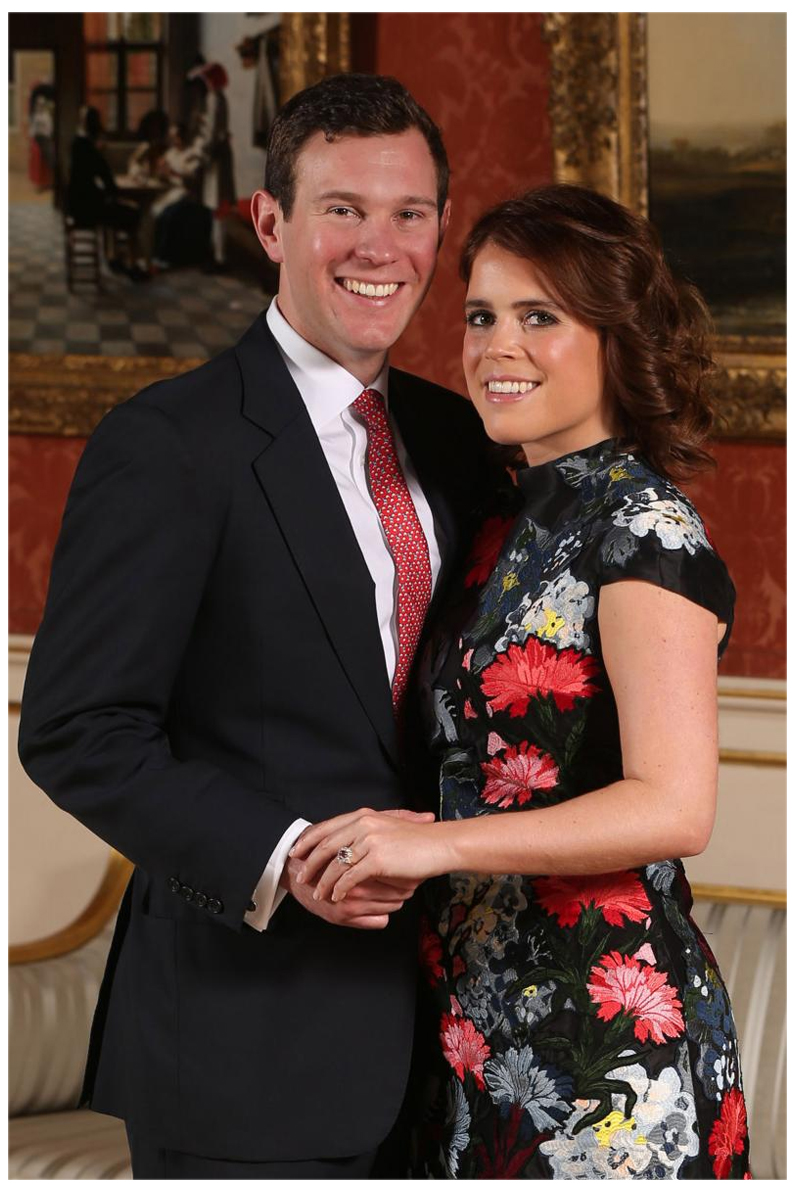 Princess Eugenie sapphire engagement ring