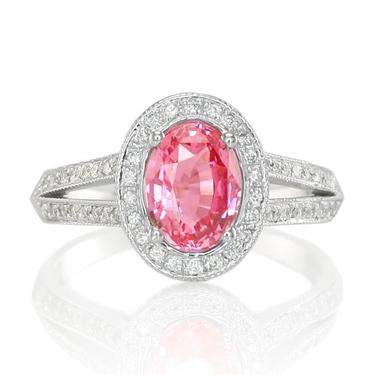 split shank sapphire ring