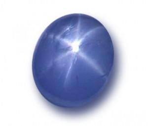 Montana blue star sapphire
