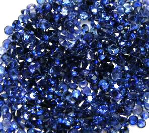 Vietnam blue sapphire gemstones