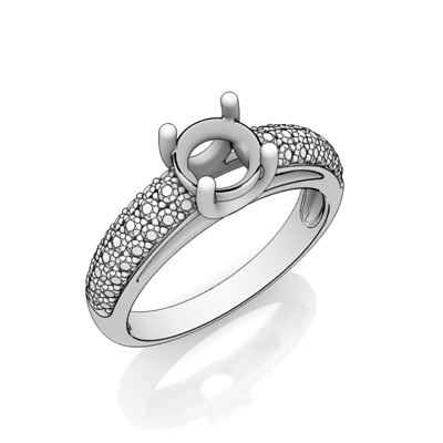 pave ring example