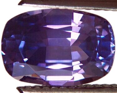 dark purple sapphire vanadium