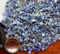 sapphires rough Ban Houay Xai in Laos