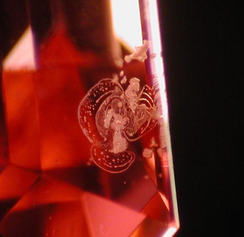 beryllium treated padparadscha sapphire