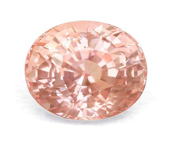 color fading padparadscha sapphire