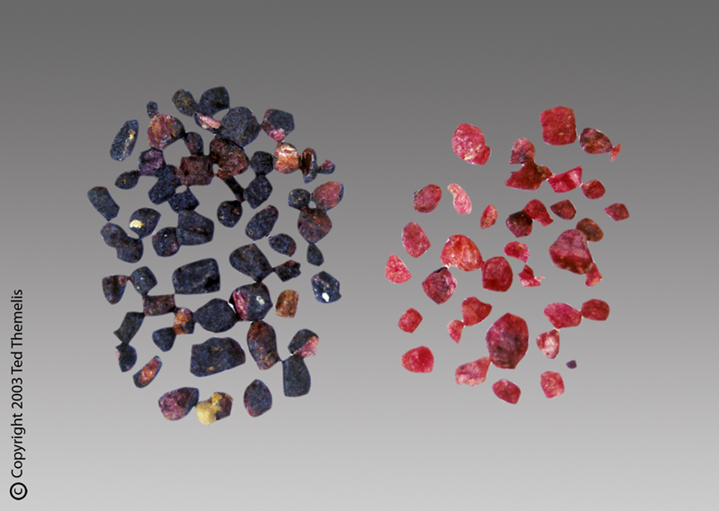 heated sandpaper quality sapphires