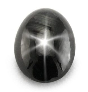 natural sapphire black star
