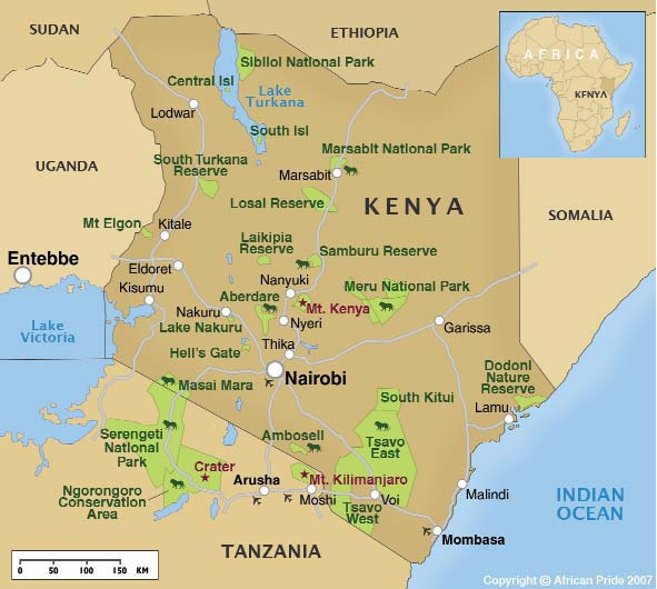Map-of-Kenya | Education