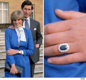 Prince Charles and Diana Spencer announce their engagement