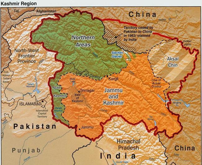 map of kashmir sapphire mining