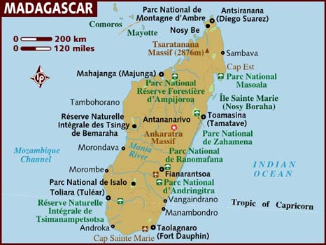 map_of_madagascar