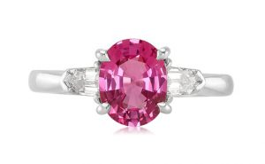 untreated pink sapphire best clarity
