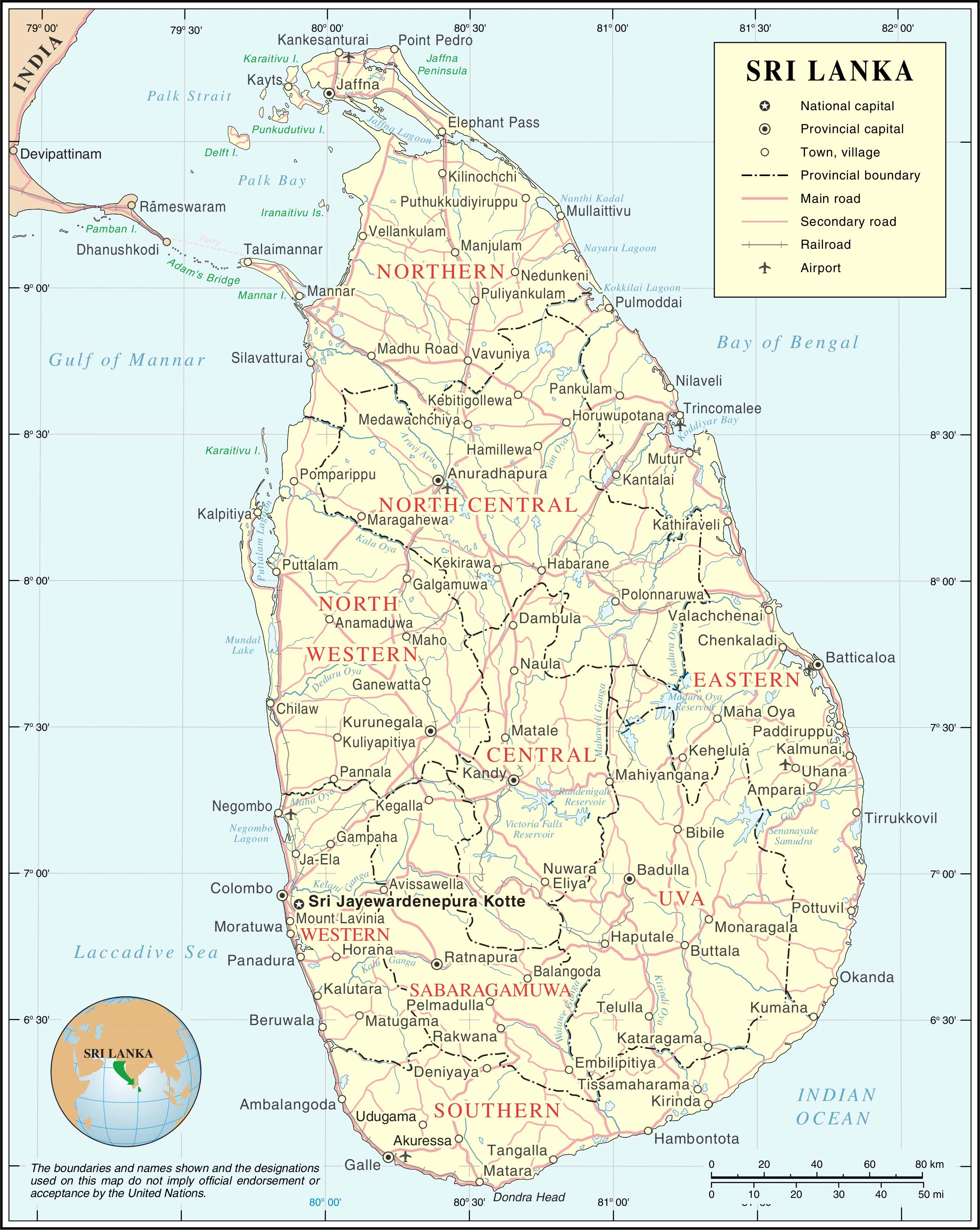 Sapphire Mining In South East Asia A Guide To Mining Towns - Where is sri lanka located