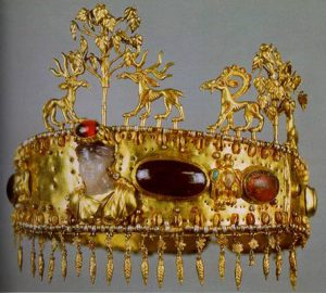 A Sarmatian diadem from the 1st century A.D